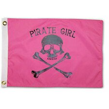 Pirate Heads 'Pirate Girl' Traditional Flag
