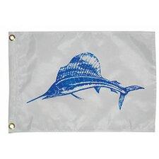 Novelty Design Sailfish Traditional Flag