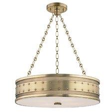 Gaines 4 Light Drum Pendant
