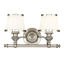 Milton 2 Light Vanity Light