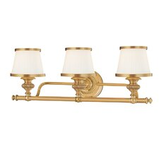 Milton 3 Light Vanity Light