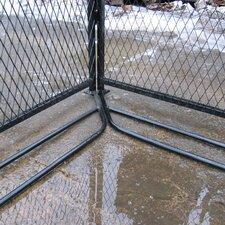 Basic Yard Kennel Digging Prevention System