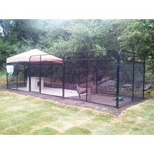 Ultimate Expanded Metal Yard Kennel