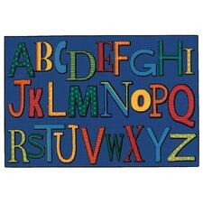Playful Alphabet Kids Rug