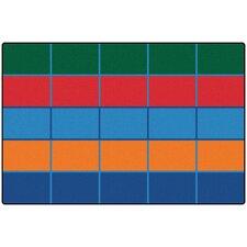 Color Blocks Value Seating Kids Rug