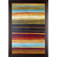 'Organic Layers I' by Jeni Lee Framed Painting Print