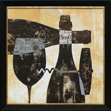 Wine Selection I by Daphne Brissonnet Framed Painting Print