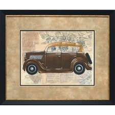 Tour by Car I by Chaiklia Zarris Framed Graphic Art