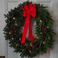 Pre-Lit Classic Wreath