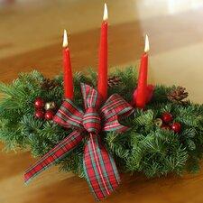 Highland 3 Candle Centerpiece