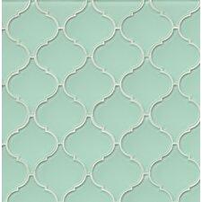 Mallorca Glass Mosaic Tile in Green