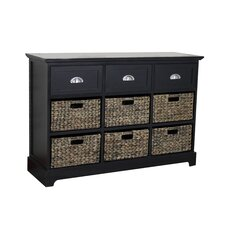Newport 3 Drawer 6 Basket Chest