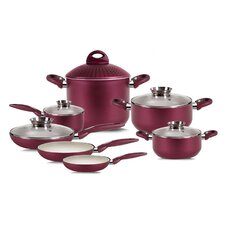 Princess Passion Bio-Ceramix Nonstick 12 Piece Cookware Set