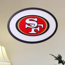 NFL Logo Graphic Art Plaque