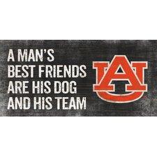 NCAA Man's Best Friend Graphic Art Plaque