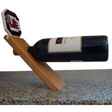 NCAA Floating Stand 1 Bottle Tabletop Wine Rack