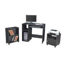 SoHo 3-Piece Standard Desk Office Suite