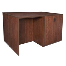 Legacy Desk Shell with Cabinet