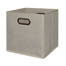 Niche Cubo Foldable Fabric Storage Bin- Beige (Set of 4)
