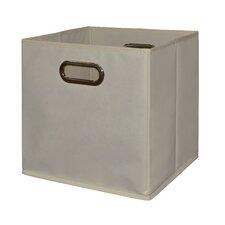 Niche Cubo Foldable Fabric Storage Bin- Beige (Set of 6)