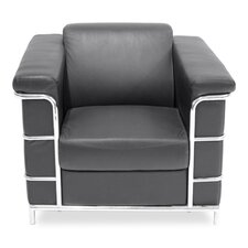 Cambridge Leather Lounge Chair