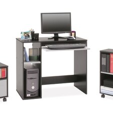 Computer Desk Set with Mobile File and Bookcase