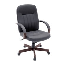 Leather Ethos Mid-Back Office Chair