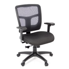 Kiera Mesh Syncro Knee-Tilt Conference Chair with Arms