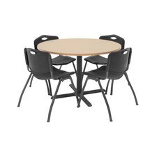 "Hospitality 42"" Round Table with Chairs"