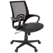 Curve Mid-Back Multi Function Chair with Arms