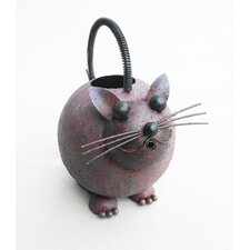 Iron Cat Watering Can