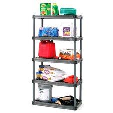 """73.75"""" H 4 Shelf Shelving Unit Starter"""