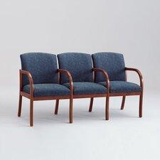 Weston Three Seats with Wood Leg