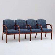 Weston Four Seats with Wood Leg