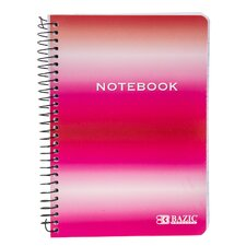 "5"" x 7"" Personal Assignment Spiral Notebook"