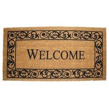 Wrought Iron Welcome Doormat