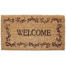 Welcome Filigree Doormat