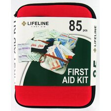 85 Piece Large Hard Shell First Aid Kit