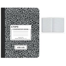 Wide Ruled Classic Composition Notebook