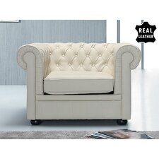 Chesterfield Leather Arm Chair