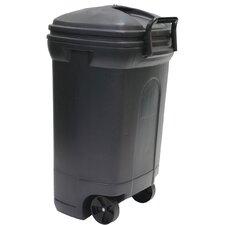 34 Gallon Rectangular Wheeled Trash Can