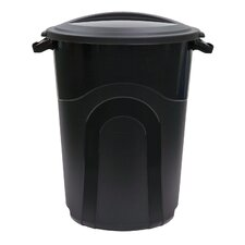 32-Gal Injection Molded Trash Can