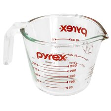 1 Cup Clear Measuring Cup (Set of 6)