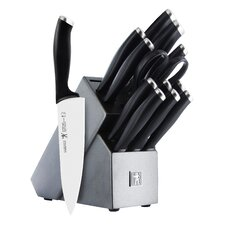 International Silvercap 14 Piece Knife Block Set