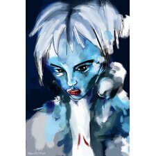"""""""Blue Girl"""" Painting Prints on Canvas"""