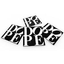 """DOPE-Black"" Coaster (Set of 4)"