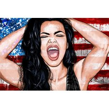 """""""Red White Blue"""" Painting Prints on Canvas"""