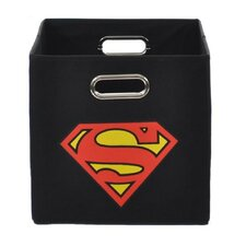 Superman Logo Toy Storage Bin