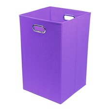 Color Pop Folding Laundry Basket