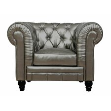 Zahara Leather Arm Chair